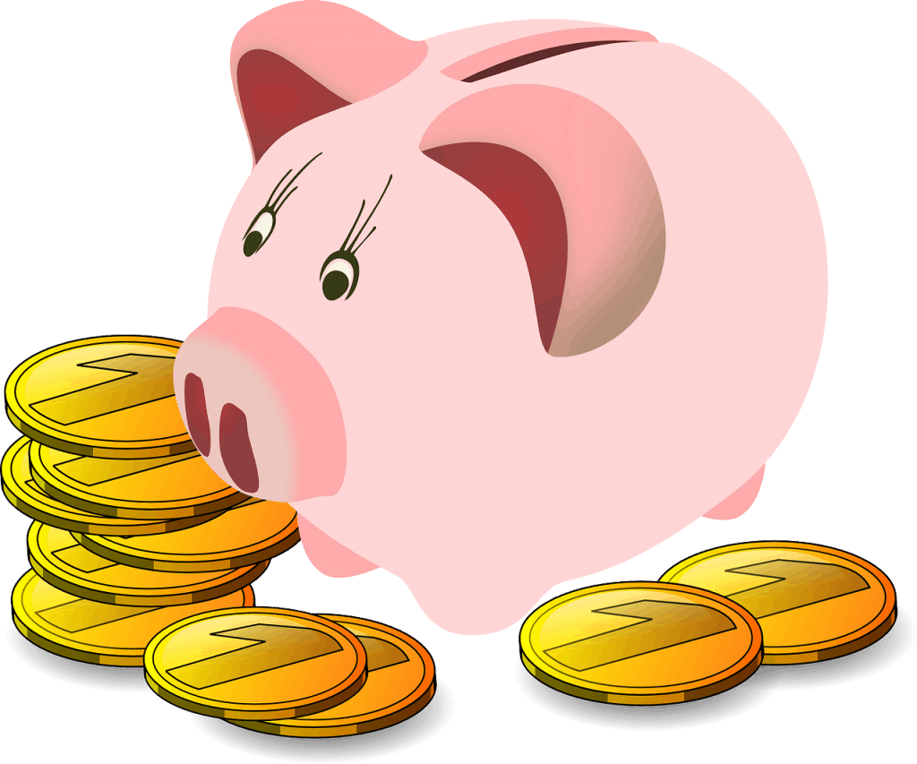 קופת חסכון עם מטבעות